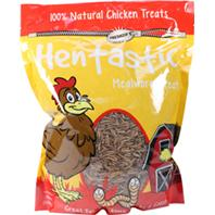 Unipet Usa - Hentastic Dried Mealworms Chicken Treats - 30 oz