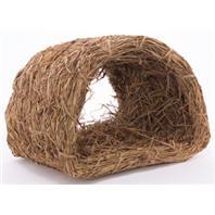 Marshall Pet - Woven Grass - Hut - Medium