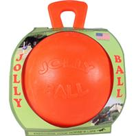 Horsemens Pride - Jolly Ball For Equine - Orange - 10 Inch