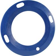 Horsemens Pride - Slow Feeder Lip For Mini Tub - Navy - Fits 18 Quart