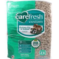 Healthy Pet - Carefresh Custom Rabbit/Guinea Pig Bedding - Natural - 60 Liter