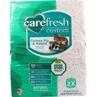 Healthy Pet - Carefresh Custom Rabbit/Guinea Pig Bedding - White - 50 Liter