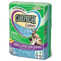 Healthy Pet - Carefresh Color Premium Soft Bedding - Blue - 50 Liter