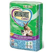 Healthy Pet - Carefresh Color Premium Soft Bedding - Blue - 23 Liter