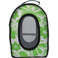 A&E Cage Company - Happy Beaks Soft Sided Bird Travel Carrier - Green - 13.5 x 9 x 18.5 Inch