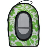 A&E Cage Company - Happy Beaks Soft Sided Travel Bird Carrier - Green - 14.5 x 10.5 x 7 Inch