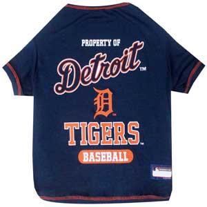 Doggienation-MLB - Detroit Tigers Dog Tee Shirt - Medium