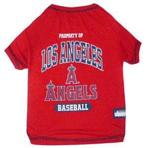 Doggienation-MLB - Los Angeles Angels Dog Tee Shirt - Large