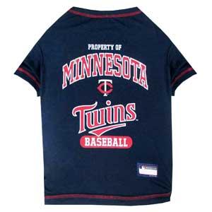 Doggienation-MLB - Minnesota Twins Dog Tee Shirt - Xtra Small