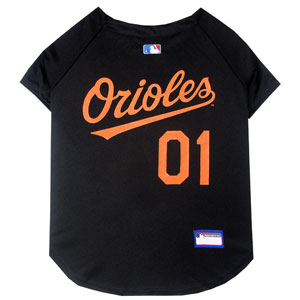 Doggienation-MLB - Baltimore Orioles Dog Jersey - Medium