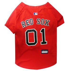 Doggienation-MLB - Boston Red Sox Dog Jersey - Large