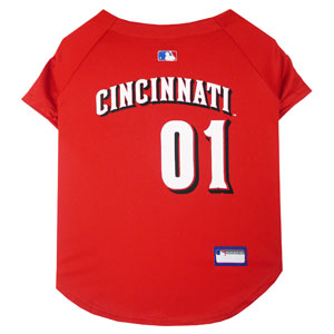 Doggienation-MLB - Cincinnati Reds Dog Jersey - Medium