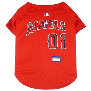 Doggienation-MLB - Los Angeles Angels Dog Jersey - Xtra Small