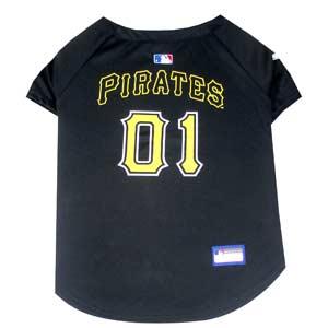 Doggienation-MLB - Pittsburgh Pirates Dog Jersey - Xtra Small