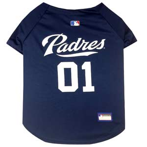 Doggienation-MLB - San Diego Padres Dog Jersey - Small