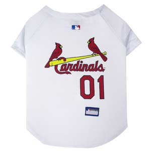 Doggienation-MLB - St Louis Cardinals Dog Jersey - Small