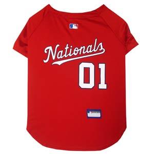 Doggienation-MLB - Washington Nationals Dog Jersey - Small