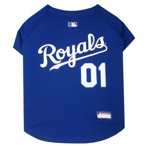 Doggienation-MLB - Kansas City Royals Dog Jersey - Large