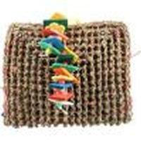 A&E Cage Company - Happy Beaks Vine Mat Forage Pouch Bird Toy - Multi - Medium