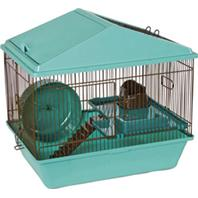 Ware Mfg - Animal House 2-Level Hamster Home - Assorted - 16 Inch