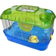 Ware Mfg - Critter Universe Eco Small Pet Home - Blue/Green - 16X9.5X12 Inch