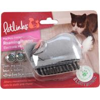 Worldwise - Petlinks Roaming Runner Electronic Mouse Cat Toy - Gray