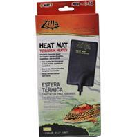 Zilla - Terrarium Heat Mat Mini - Black 1 - 5 Gallon / 4 X 7