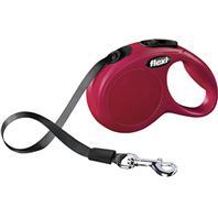 Flexi - Flexi Classic Tape Extendable Dog Leash - Red - 10 Foot