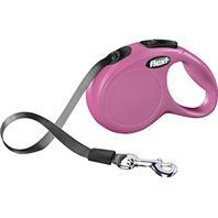 Flexi - Flexi Classic Tape Extendable Dog Leash - Pink - 10 Foot