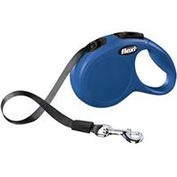 Flexi - Flexi Classic Tape Extendable Dog Leash - Blue - 10 Foot