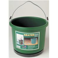 Farm Innovators - Plastic Heated Bucket - Green - 2 Gallon