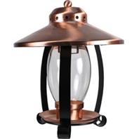 Audubon/Woodlink - Coppertop Lantern Bird Feeder - Copper&Black - 1.25 Lb Capacity