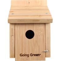 Audubon/Woodlink - Deluxe Bamboo Wren House - Natural