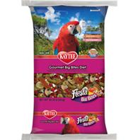 Kaytee Products - Fiesta Gourmet Big Bites Diet For Macaws - 10 Lb Bag