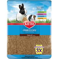 Kaytee Products - Clean And Cozy Small Pet Bedding - Natural - 1000 Cubic Inch