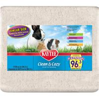 Kaytee Products - Clean And Cozy Small Pet Bedding - White - 1728 Cubic Inch