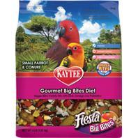 Kaytee Products - Fiesta Big Bites Bag For Small Parrots & Conures - 4 Lb Bag
