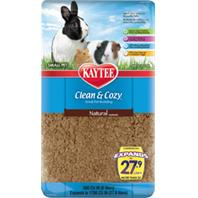 Kaytee Products - Clean And Cozy Small Pet Bedding - Natural - 500 Cubic Inch