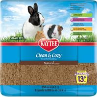Kaytee Products - Clean And Cozy Small Pet Bedding - Natural - 250 Cubic Inch