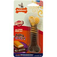 Nylabone - Flavor Frenzy Dura Chew Textured Dog Chew - Cheesesteak - Regular