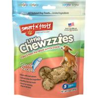 Emerald Pet Products - Smart N Tasty Little Chewzzies Dog Treats - Salmon - 5 oz