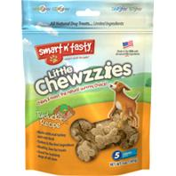 Emerald Pet Products - Smart N Tasty Little Chewzzies Dog Treats - Turducky - 5 oz