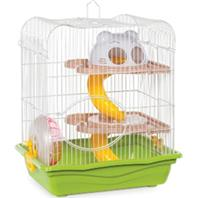 Prevue Pet Products - Hamster Haven 2-Story - Assorted - 14 Inch