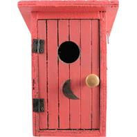 Songbird Essentials - Birdie Loo Birdhouse - Red