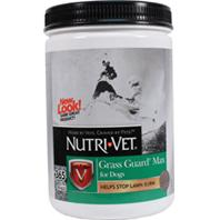 Nutri-Vet - Grass Guard Max Chewables For Dogs - Liver - 365 Count