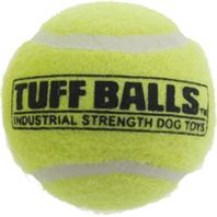 Petsport - Tuff Ball Bulk - Yellow - 2.5 Inch