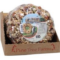 Pine Tree Farms - Nutsie Le Petite Seed Wreath Counter Pack - Brown - 1.50 Lb/6Pak
