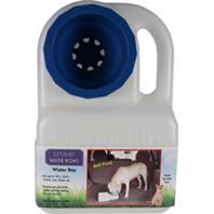 Lixit Corporation - Howard Pet - Lixit Water Boy Travel Dog Water Bowl - Opaque/Blue - 3 Quart