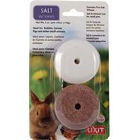 Lixit Corporation - Howard Pet - Lixit Salt & Mineral Wheel Blister Pack - White/Brown - 2 Per Pack