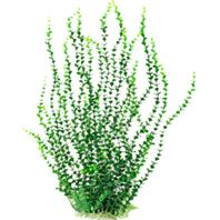 Aquatop Aquatic Supplies - Small Leaf Aquarium Plant With Weighted Base - Green - 26 Inch